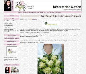 Interview sur le blog de Juliette de Décoratrice Maison