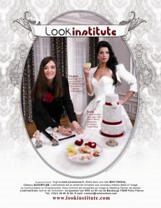 Oui Magazine – Publicité pour Lookinstitute école de wedding planner – Mars 2011