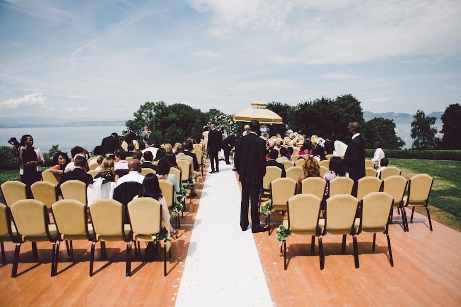 ceremonie mariage extérieur