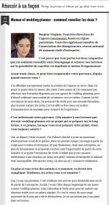 Interview du blog « Reussir à sa façon » – Novembre 2012