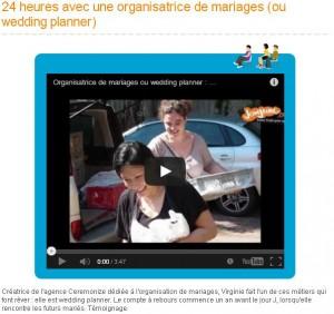 24 heures avec une organisatrice de mariages – JcomJeune – Juin 2013
