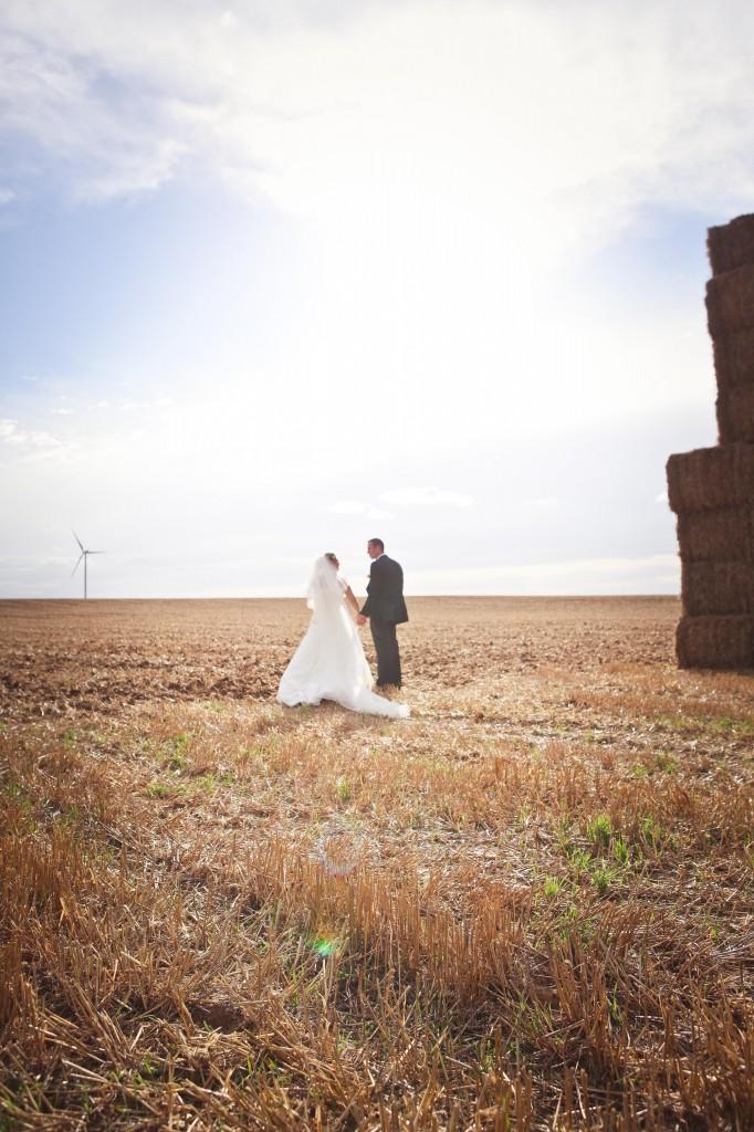 photos de couple mariage champêtre