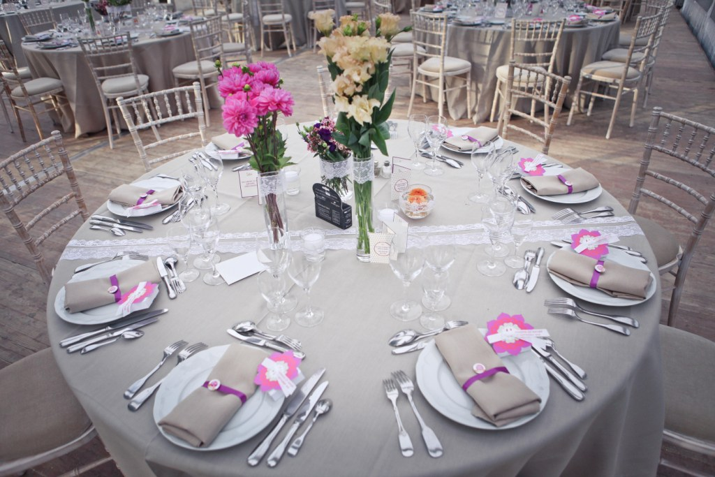 Blog de mariage for Decoration mariage table