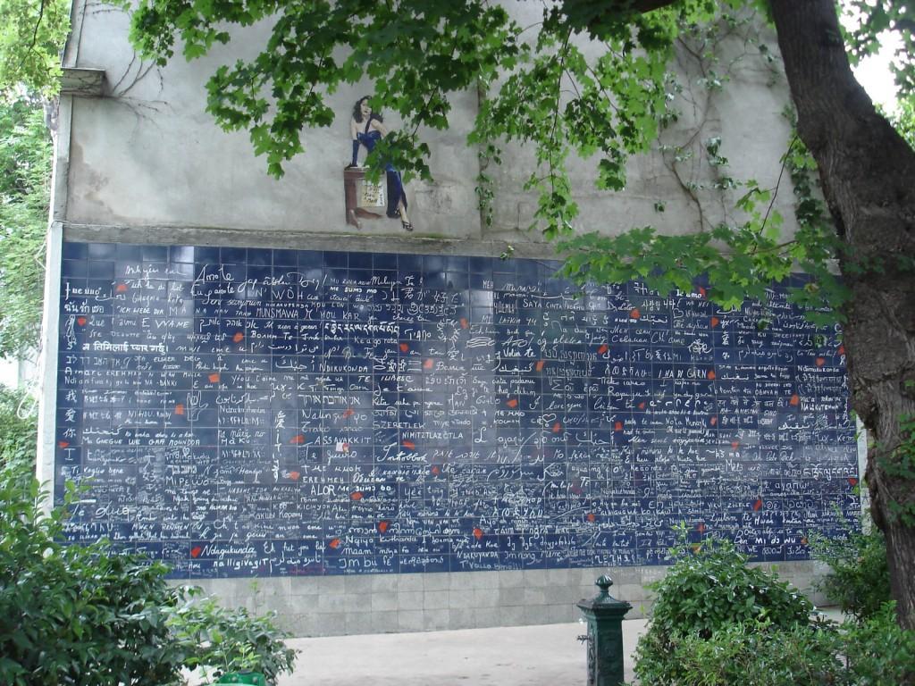 les murs des Je t'aime