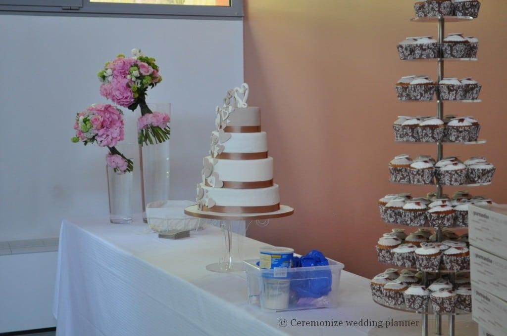 Choix de votre gâteau de mariage