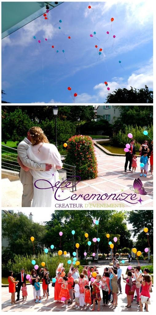 lacher ballon mariage