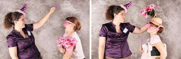 Les wedding planner se lachent pour tester le photobooth!