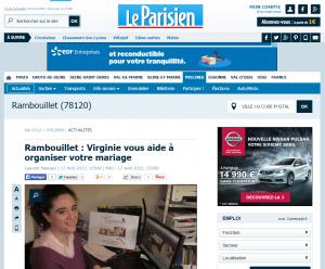 Le Parisien Edition Yvelines 78 - Avril 2015