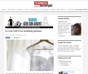Blog l'Express - Avril 2015