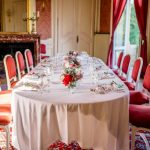 chic castle wedding france