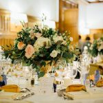 chic golden wedding decoration