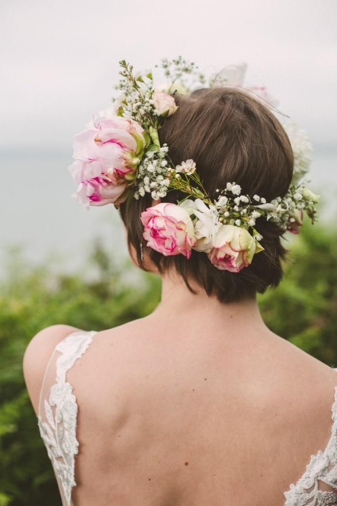 accessoire, couronne fleur de mariée