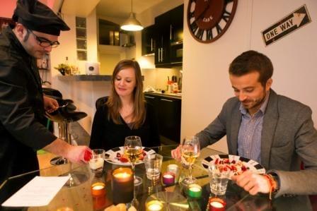 diner romantique saint valentin