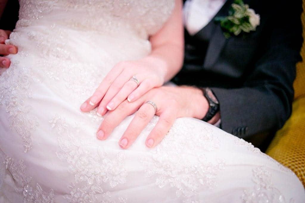 Une mariée jusqu'au bout des ongles
