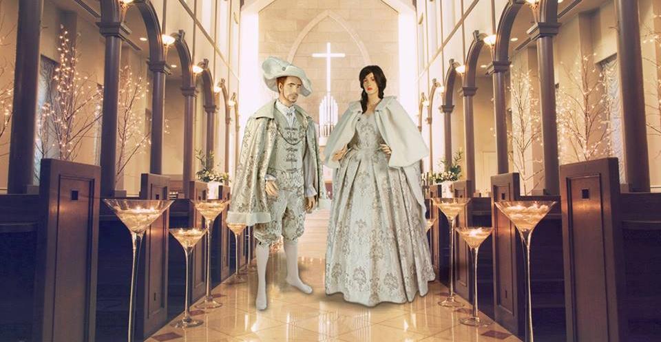 Réaliser un mariage sur un thème de l'histoire