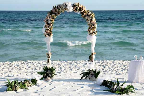 Un mariage en bord de mer