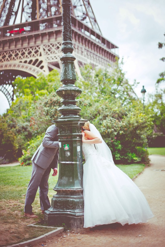 wedding photos paris