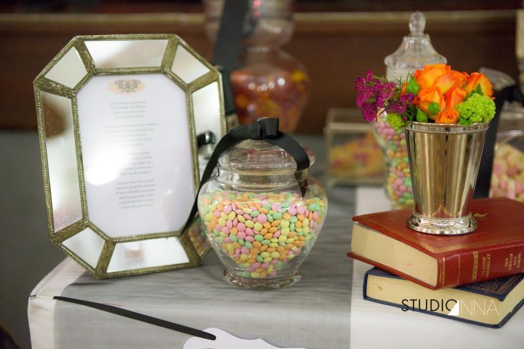 Candy bar de mariage chic