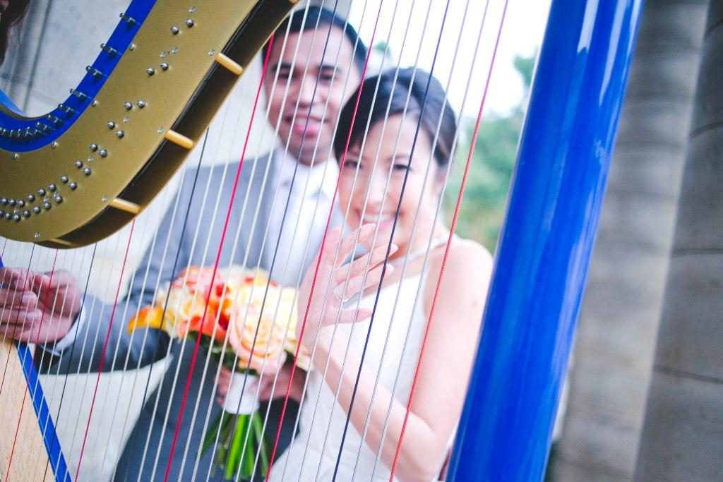 harpist wedding ceremony