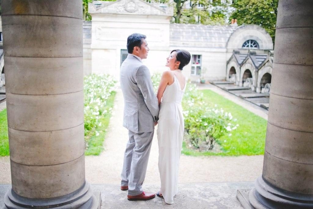 intimate ceremony chapel paris