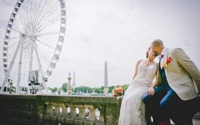 Small and intimate wedding in Paris
