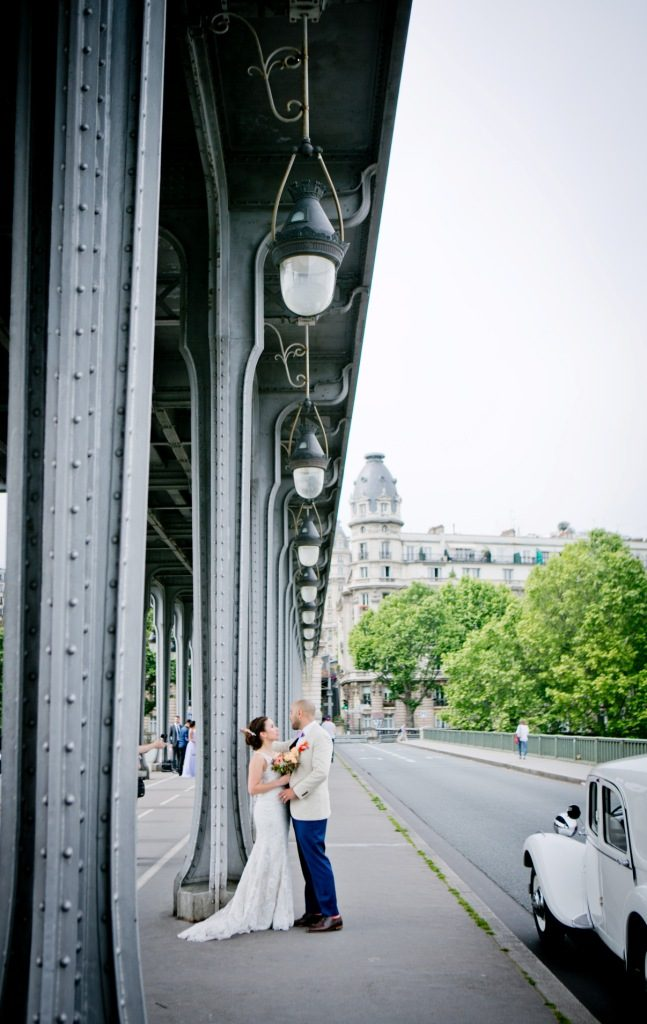 intimate ceremony in paris