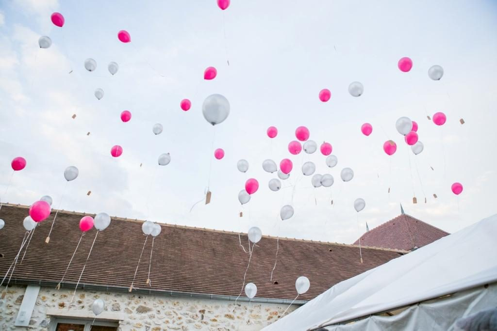 wedding balloon launch