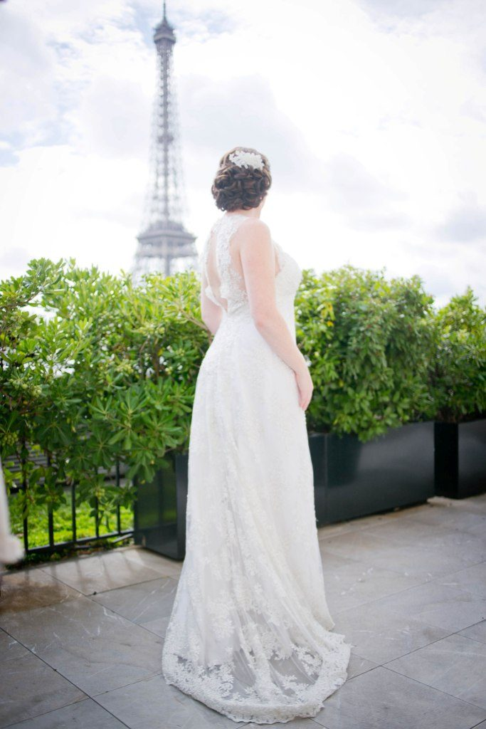 wedding ceremony eiffel tower