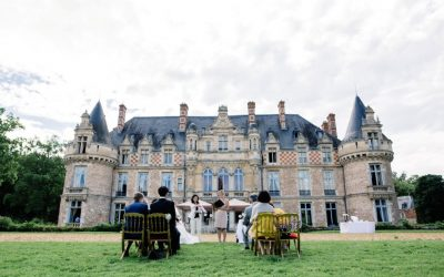 An intimate wedding in the beautiful French countryside