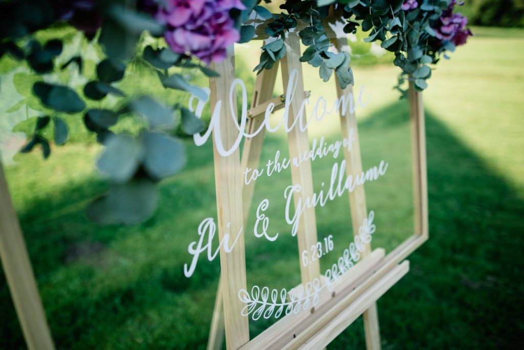elegant chic wedding decoration