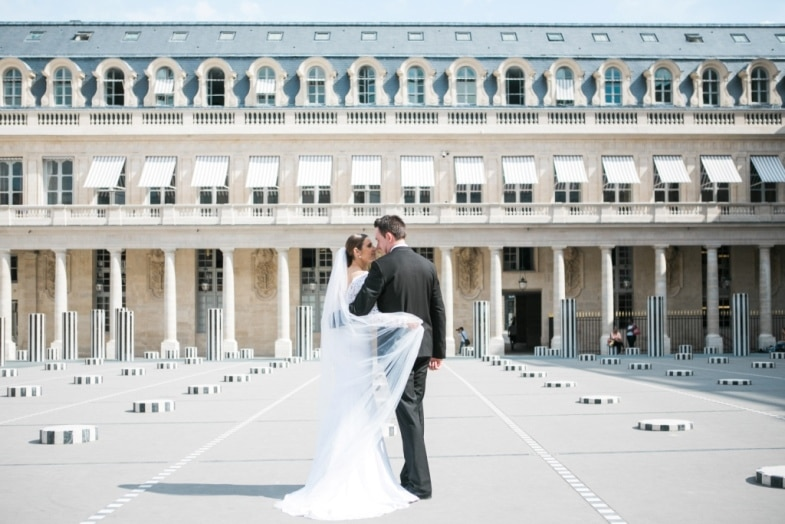 Getting married in Paris – how romantic!