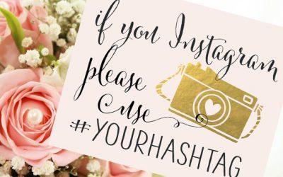 4 conseils pour créer le hashtag parfait pour votre mariage