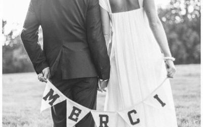 7 conseils pour organiser un mariage chez soi