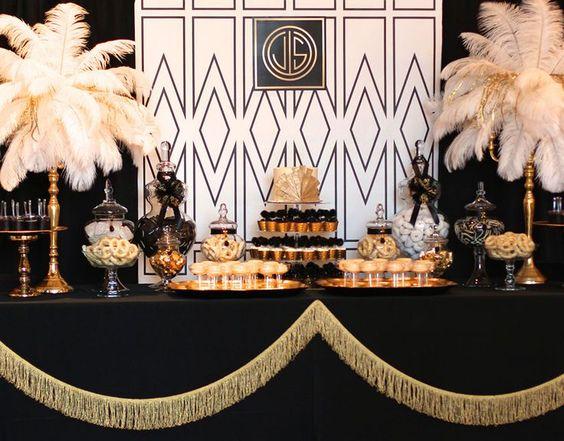 decoration mariage theme années folles