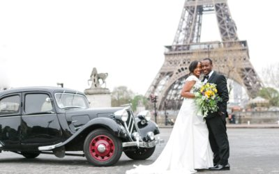 Walita and Ryan's real elopement in Paris