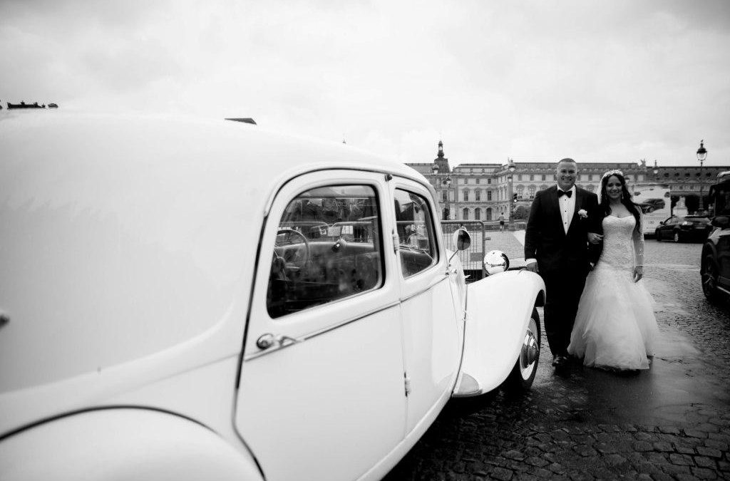 Andrea and Jose's elopement in Paris