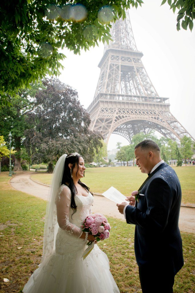 elopement paris
