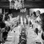 intimate restaurant wedding paris