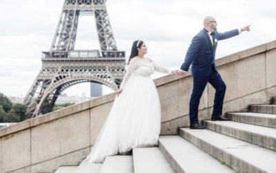 A unique wedding in Paris