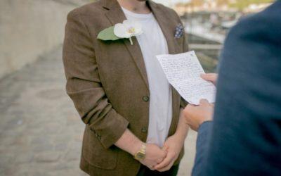 Rédiger ses voeux de mariages