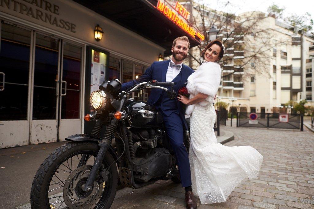 arrivée de mariage originale