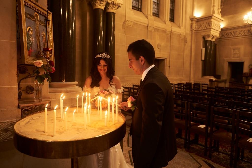 se marier à l'église